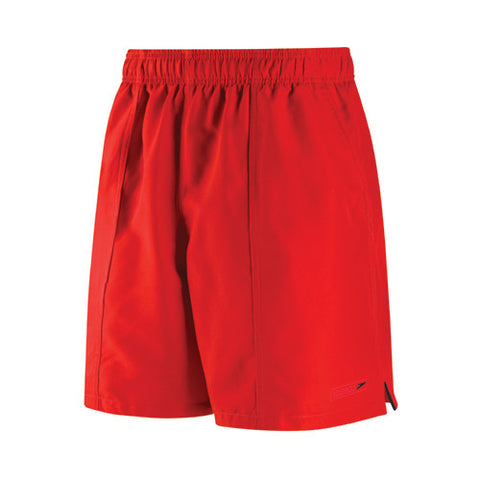 Speedo Rally Swim Shorts Fiesta Red LG