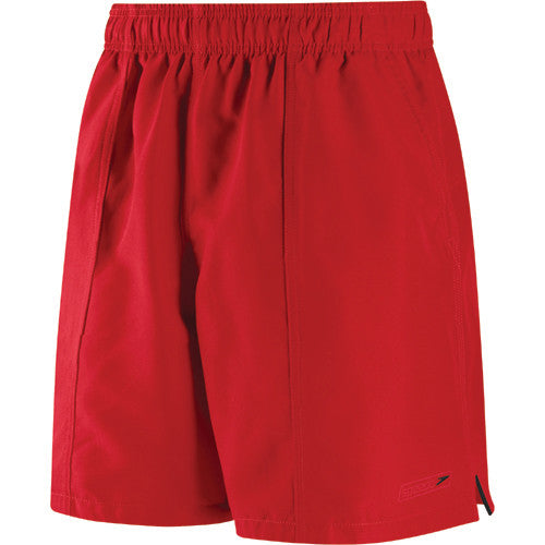 Speedo Rally Swim Shorts Red Bluff LG