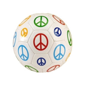 Red Lion Soccerball Multi Peace Sz 4