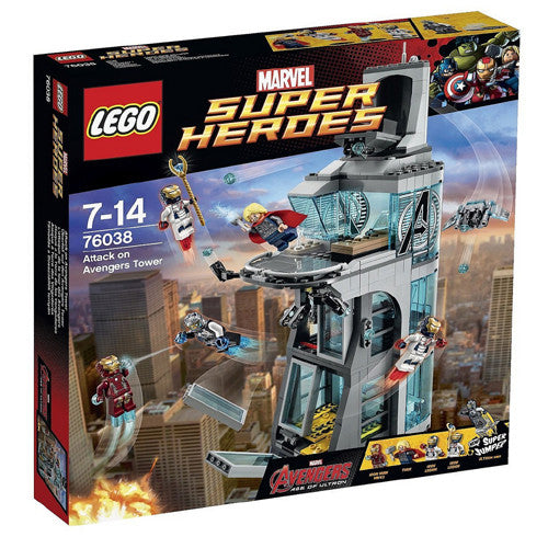 Lego SH Attack on Avengers Tower