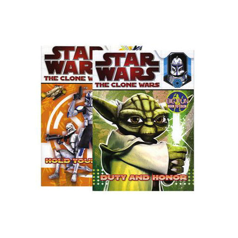 Master Toy Star Wars Clone Coloring Book