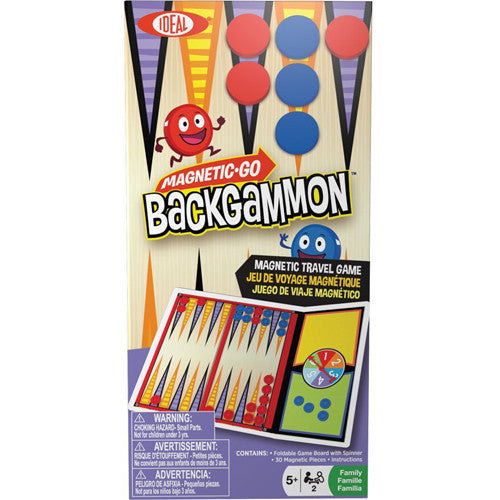 Poof Magnetic Go! Backgammon