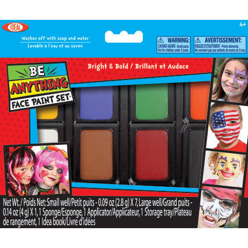Poof Be Anything! Bright&Bold Face Paint