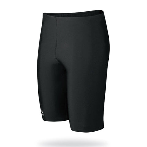 Speedo Solid Endurance Jammer Swimsuit Black 24