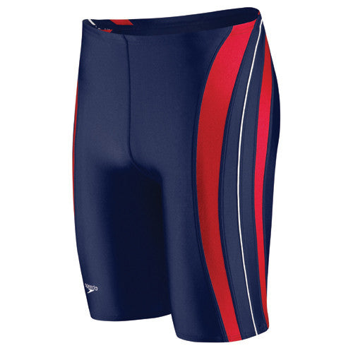Speedo Rapid Spliced Jammer Navy/Red 38