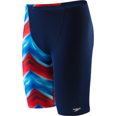 Speedo Pulse Poly Jammer Red/White/Blue 24