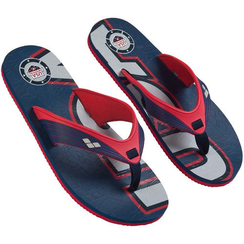 Arena Team USA Flip Flop 10 Blue