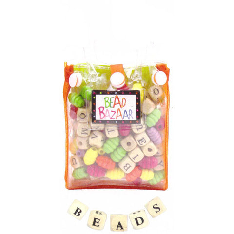 Bead Bazaar ABC Bead Bag