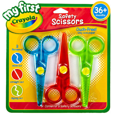 Crayola 3ct Safety Scissors