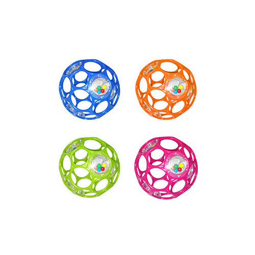 "Rhino Toys 4"" Rattle Oball"