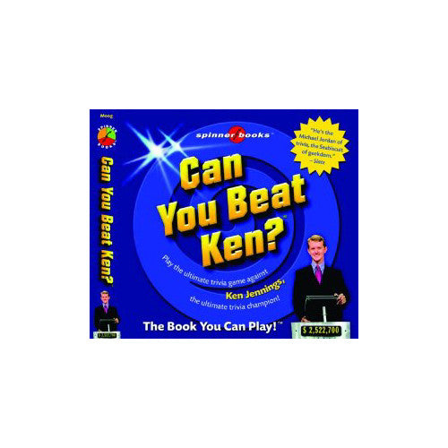 University Games Spinner Spinner Books for Adults| Can You Beat Ken?