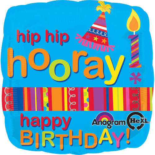 B Everywhere Hip Hip Hooray Birthday