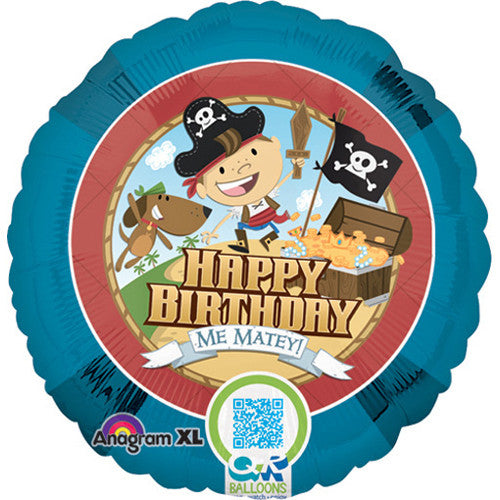 B Everywhere Birthday Pirate