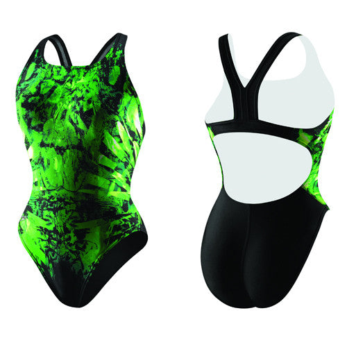 Speedo In Flight Adult SuperPro Green 34