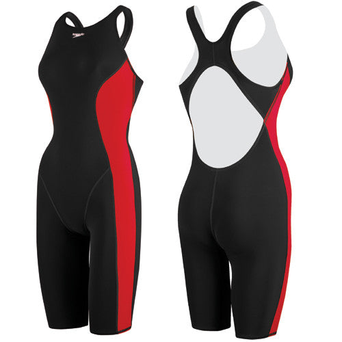 Speedo Powerplus Kneeskin Black/True Red 32