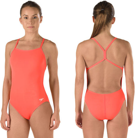 Speedo The One Hot Coral 28