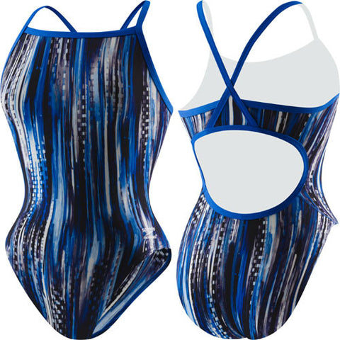 Speedo Deep Within Poly Flyback Blue 34