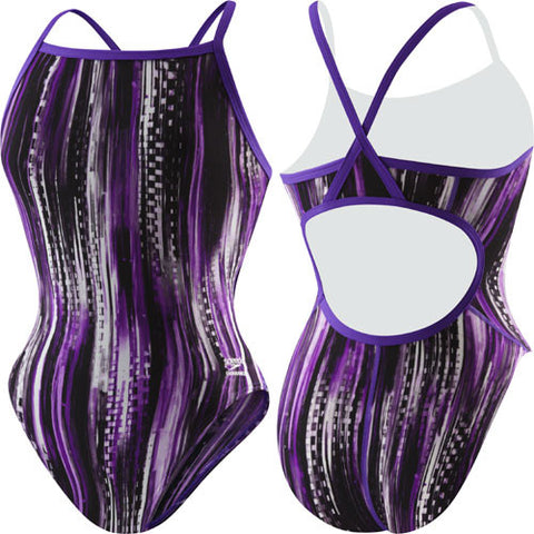 Speedo Deep Within Poly Flyback Purple 26