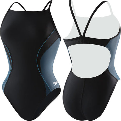 Speedo Revolve Splice Lycra Black 38