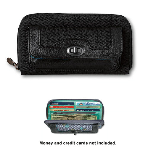 Dakine Wallet Riley Black Cherry