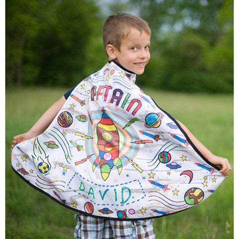 Creative Color Me Cape Rocket Man