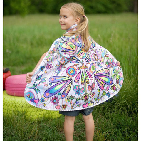 Creative Color Me Cape Fairy Set