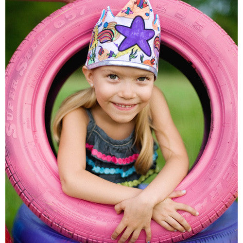 Creative Color Me Crown Mermaid Set