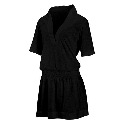 Speedo Hooded CoverUp Black LG