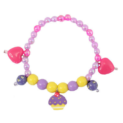 Creative Purple Cake Bracelet