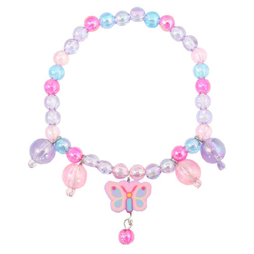 Creative Light Butterfly Charm Bracelet