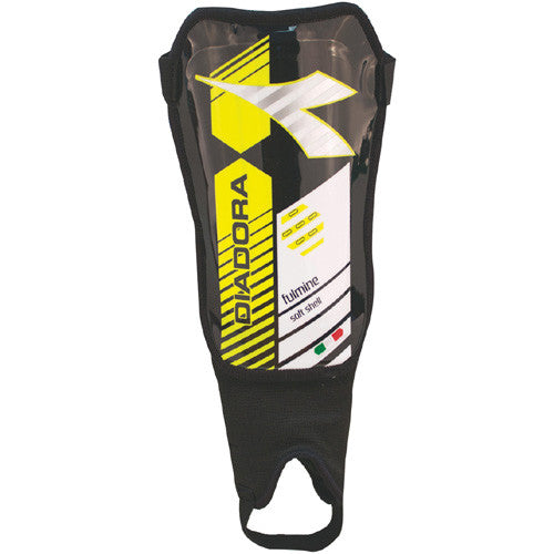 Diadora Shinguard Fulmine Black Fluo Yellow Small