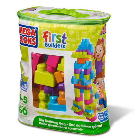 Mega Bloks Big Building Bag-Trendy