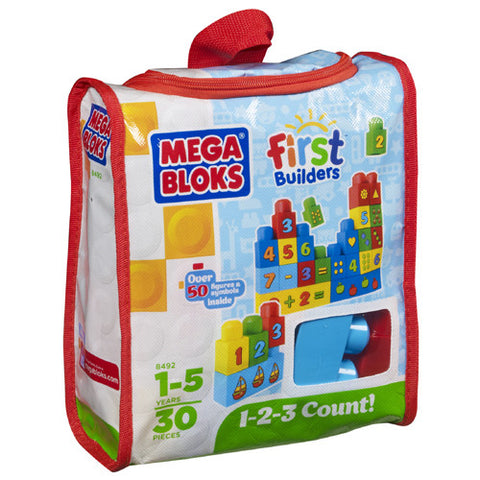 Mega Bloks First Builders 123