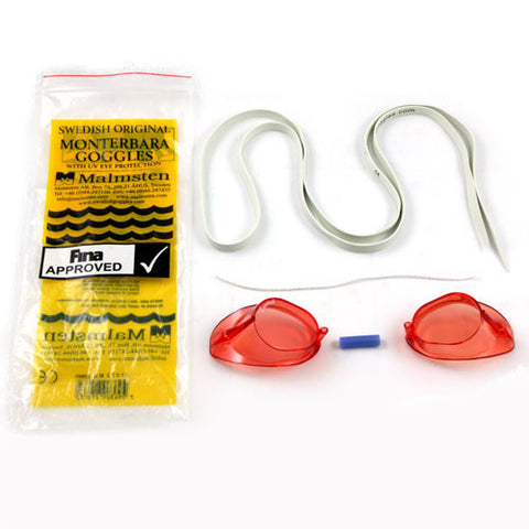 Swedish Swim Goggle Red