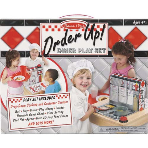 M&D Order Up! Diner Play Set
