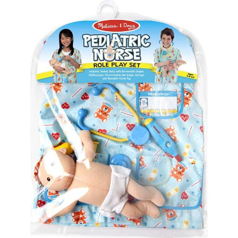 M&D Pediatric Nurse Role Play Set