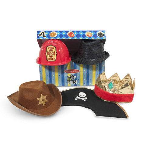M&D Top This! Role Play Hats