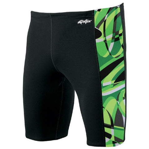 Dolfin Poly Domino Jammer Green 34