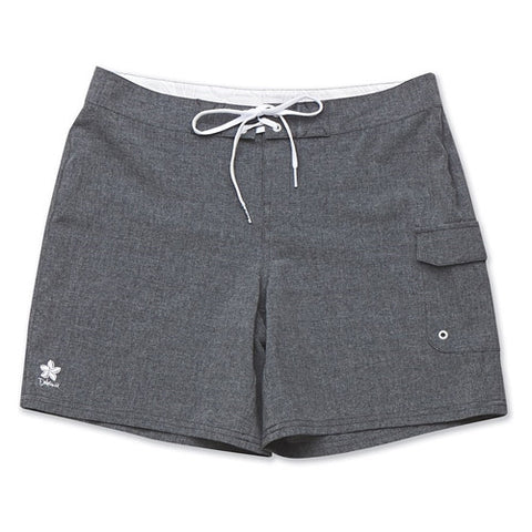 Dakine Womens Board Short 7in Kahana Black Heather SM