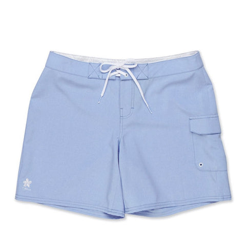 Dakine Womens Board Short 7in Kahana Periwinkle Heather LG