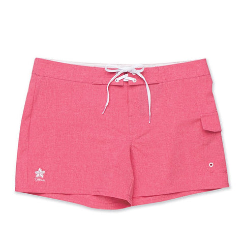 Dakine Womens Board Short 7in Kahana Petunia Heather LG