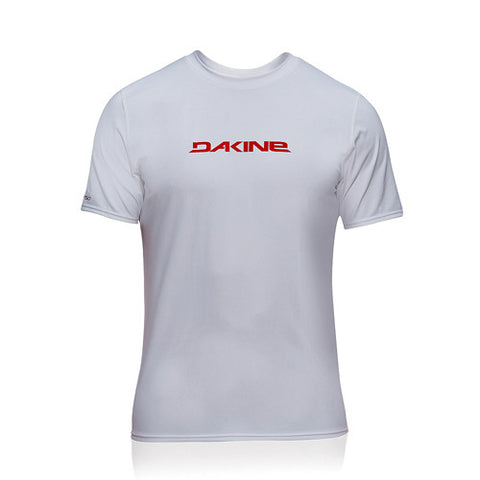 Dakine Mens S/S Rashie HD Loose White LG