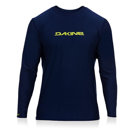 Dakine Mens L/S Rashie HD Loose Navy MD