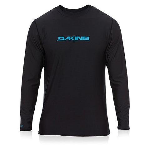 Dakine Mens L/S Rashie HD Loose Black SM