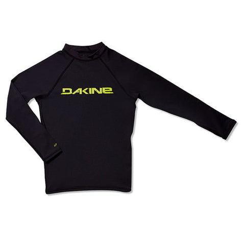 Dakine Boys L/S Rashing Heavy Duty Snug Black 8