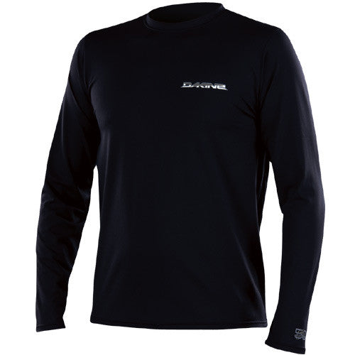 Dakine Men Surf Shirt L/S Off Shore Black Small