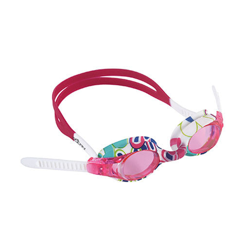 Dolfin Flipper Flowers Goggle Strawberry