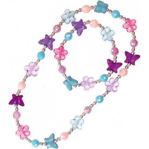 Creative Flutter Me By Necklace & Bracel