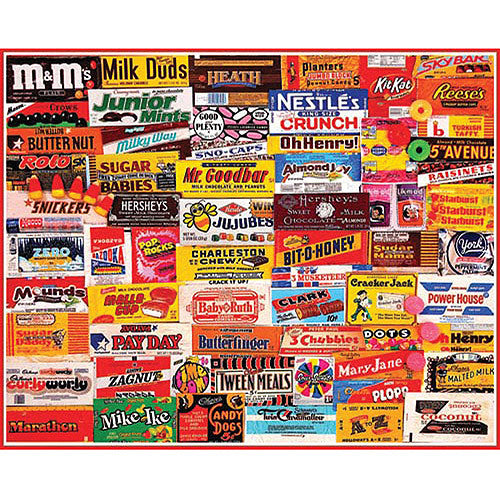 White Mountain 1000pc Candy Wrappers