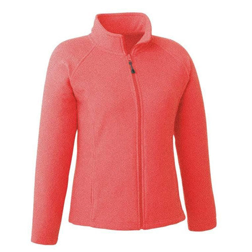 Landway Wos Sonoma Full Zip Fleece Heather Peach X Large